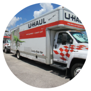 Rent Uhaul rental trucks at My Storage Plus locations