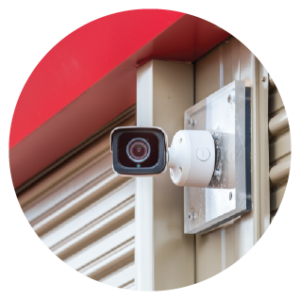 Onsite video cameras on all My Storage Plus properties