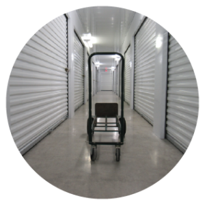 Moving carts and dollies make moving into self storage easy