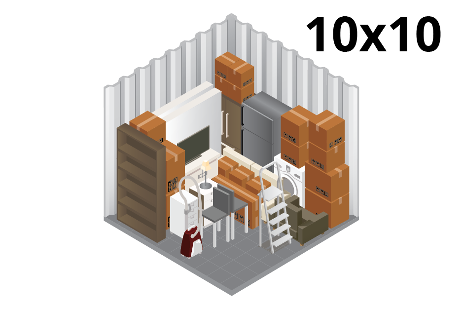 10X10 Self Storage Unit